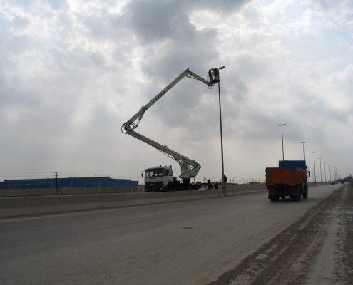 تعمیرات و نگهداری تجهیزات و تاسیسات برقی و مکانیکی بندر امام خميني(ره)