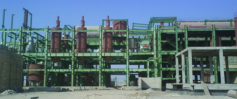 ساخت و نصب مخازن سوخت و ملاس ، فيلترهاي شني كارخانه شكر دهخدا