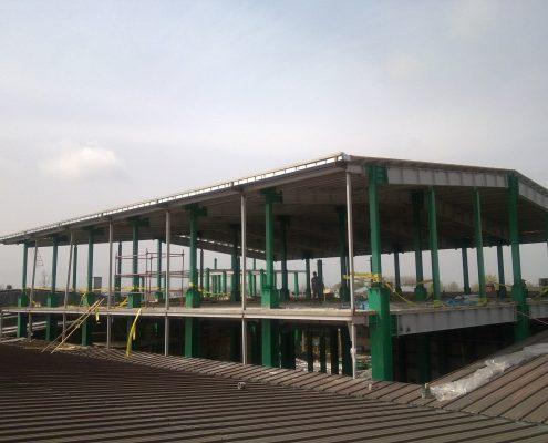 عمليات توسعه و احداث سالن تولید و ساختمان های جنبی (غدیر)